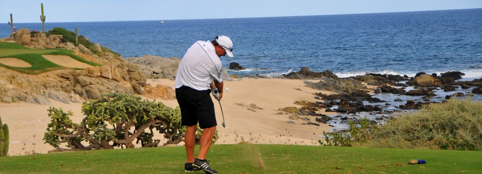 Play on two spectacular courses at the Cabo del Sol Golf Club...